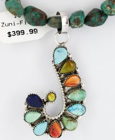 $620 Tag-Petit Point Handmade AUTHENTIC Lalio Zuni 925 MULTICOLOR & Turquoise 41 Jewlery, Jewelry Watches, Turquoise, Drop Earrings, Beads, Handmade, Jewels, Beading, Hand Made