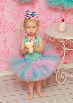 Cupcake Tutu Cotton Candy tutu