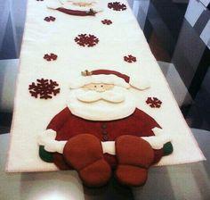 Resultado de imagen para caminos de mesas navideños en pañolenci