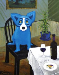 Excerpts from George Rodrigue's Blue Dog Speaks | Houston | Slideshows | Houston News and Events | Houston Press