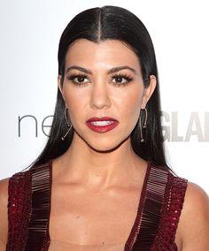 Kourtney Kardashian in Julien Macdonald dress
