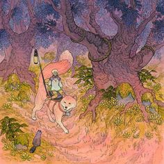 nimasprout - Art by Nicole Gustafsson_Forest Journey