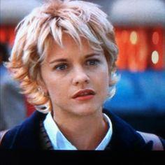 "Meg Ryan's hair in, ""French Kiss."""