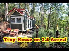Tiny House on 2.5 Acres Near Asheville - YouTube