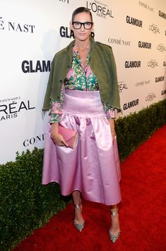 Jenna Lyons Photos Photos - J.Crew President and Creative Director Jenna Lyons attends Glamour Women Of The Year 2016 at NeueHouse Hollywood on November 14, 2016 in Los Angeles, California. - Glamour Women of the Year 2016 - Red Carpet