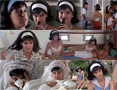 """A halfa beer.....a beer and a half."" --  Was the perfect '60s teenage socialite in the underrated movie Shag. 