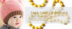 2015 New style Baby Teething Necklace FDA Silicone Baby Teethers Baby Chewlry Silicone Jewelry Necklaces