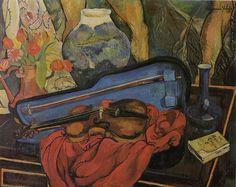 Suzanne Valadon「La Boîte à violon」(1923)