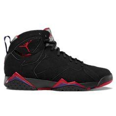 Air Jordan 7 (VII) Raptor 2012 Black True Red Dark Charcoal Club Purple $103.99 http://www.theredkicks.com