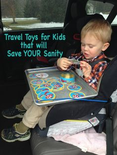 Travel Toys for Kids that will Save YOUR Sanity We love these ideas almost as much as we love a good road trip! #getawaytoday #packedwithfun