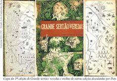 R$3.000 - Grande Sertão Veredas /capa de Poty/1*edição Livraria Editora José Olympio, 1956. Formato: 14, 5x23 cm.; 594 páginas.