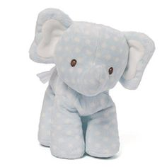 Gund Baby Lolly and Friends Stuffed Animal, Elephant