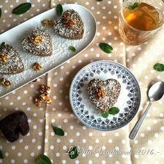 La Olla Vegetariana: Dulces corazones.. y tercer aniversario de La Olla...!!