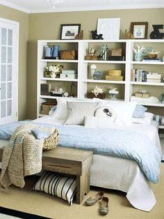 Good bookcase headboard