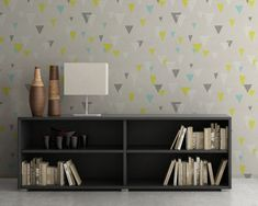 Upgrade your walls with this elegant Triangles Mid Century Wallpaper adding an exclusive touch to your personal style and surprise your family and friends. Temporary Wallpaper, More Wallpaper, Fabric Wallpaper, Simple Addition, Self Adhesive Wallpaper, Cool Patterns, Textured Walls, Wall Stickers, Wall Murals