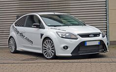 German Tuner Mcchip-dkr Boosts Ford Focus RS to 451 lb-ft - WOT on Motor Trend Ford Focus 2008, Ford Focus Sedan, Focus 2012, Focus Rs, My Dream Car, Dream Cars, Ford 2000, Autos Ford, Ford Motorsport