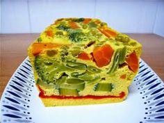Pastel de verduras (Microondas)