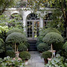 anouska hempel.  garden.