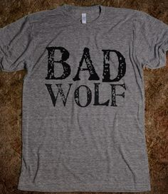"""I want to do this, but embellished...somewhere there's this graphic with Rose and Ten and it has this line about """"The Bad Wolf howls for the Oncoming Storm."""" THAT."""