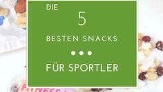 Die besten Snacks für Sportler