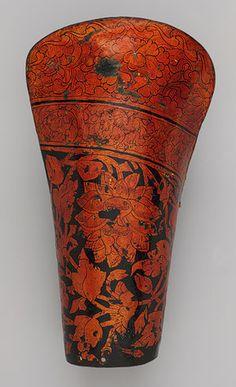 Forearm guard for the left arm [Tibetan or Mongolian] (2005.301.2) | Heilbrunn Timeline of Art History | The Metropolitan Museum of Art