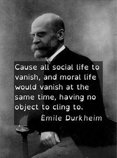 contribution of emile durkheim study of society sociology essay Essay on assessment of marx's contributions to sociology - karl marx was undoubtedly a great social thinker, profound scholar and a prolific writer he was an idealist who committed himself to the cause of welfare of the working community it is more appropriate to call him a social philosopher.