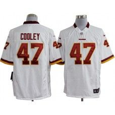3463af731be Nike Mens Washington Redskins Chris Cooley Jersey 47 Game Team Color White Chris  Cooley
