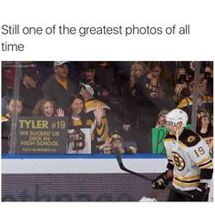 Ha ha! This is the real story.--- http://deadspin.com/5898158/bruins-fans-make-clever-two-minutes-for-hooking-sign-that-gets-filthy-photoshop-update