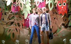 Ideas para decorar escaparates en primavera - Decofilia.com