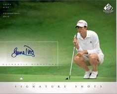 2004+Sp+Signature+Shots+8+X+10+Ld+Laura+Diaz+Golf+Autographed