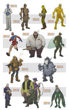 awesome spiderman villains II by jimmymcwicked on deviantART