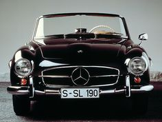 Mercedes Benz...classic and gorgeous.  Dream car!