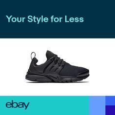 4ca659e9c115 Nike Presto (GS) Big Kids Running Shoes Black 833875-003 (7 Y