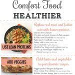 55 Ways to Make Comfort Food Healthier (+ Infographic)
