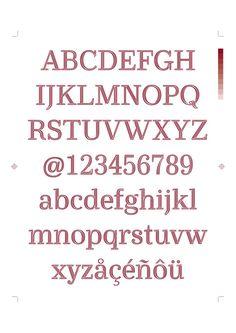 Ryman Eco font sample