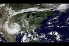 A giant high-pressure dome in the atmosphere, sitting over the Ohio Valley, is keeping the East Coast hot and humid. The high pressure blocks the jet stream's cooler air from reaching the region and, at the same time, pulls in hot, humid air from the Gulf of Mexico. The high pressure also keeps the skies clear, helping to raise temperatures, as can be seen from space in an image captured by the GOES East satellite