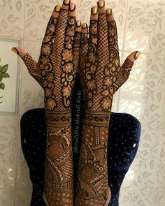 New and Trendy Bridal Mehndi designs