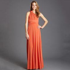 Long Transformer Dress Orange, $59, now featured on Fab.