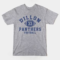 Dillon Panthers Football  Friday Night Lights t-shirts are now available in store!  #FNL, #FridayNightLights, #sport, #football, #tvshows,