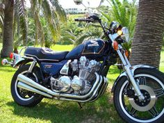 I had this bike. Heavy but good rider. 1980 Honda CB900 Custom. Ran it off the side of a mountain in Smokey Mountains. Compressed spinal fracture. Took 6 months to heal. Gave up motorcycles for a few years and took up flying. Came back to bikes for good.