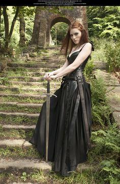 Stand My Ground 006 by ^Elandria on deviantART #fantasy #sword #black