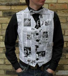 Paper waistcoat