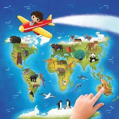 cover for AZ Books' World Animals Atlas