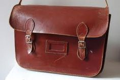 I had my first school satchel after I passed the & went to Clifton Hall Girls Grammar School. It lasted until I discovered tote bags!