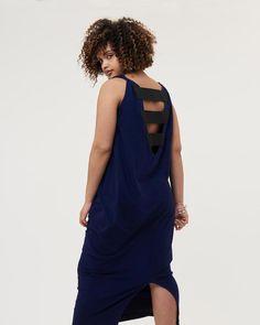 b1deefc53be Tenna Jersey Maxi Dress - Evening Blue  maxidressessummer