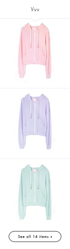 """""""Vvv"""" by bruhh-its-sascha ❤ liked on Polyvore featuring jackets, tops, clothing - hoodies, outerwear, purple, green, green jacket and bubble jacket"""