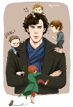Sherlock and ALL of the Martins!