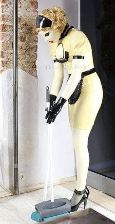"""m-the-doll: """" M, the beautiful maid. From her new movie: Transformation. Bambi, Latex Suit, Female Mask, Rubber Doll, Heavy Rubber, Normal Life, New Movies, Mistress, Crossdressers"""