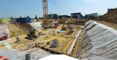 L'Ensi, un chantier qui avance vite, très vite ! Construction, Architecture, Paris Skyline, Travel, Building, Arquitetura, Viajes, Trips, Tourism