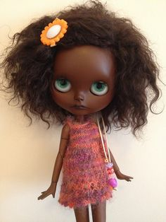 African American Blythe doll Custom | Flickr - Photo Sharing!
